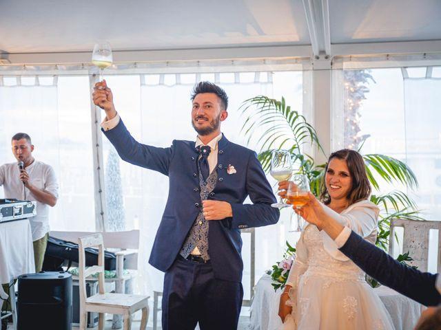 Il matrimonio di Matteo e Giada a Gabicce Mare, Pesaro - Urbino 69