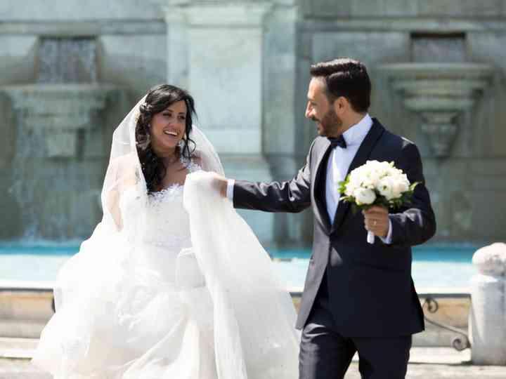 le nozze di Valeria e Franco