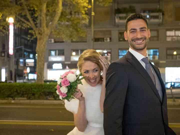 le nozze di Tiziana e Andrea