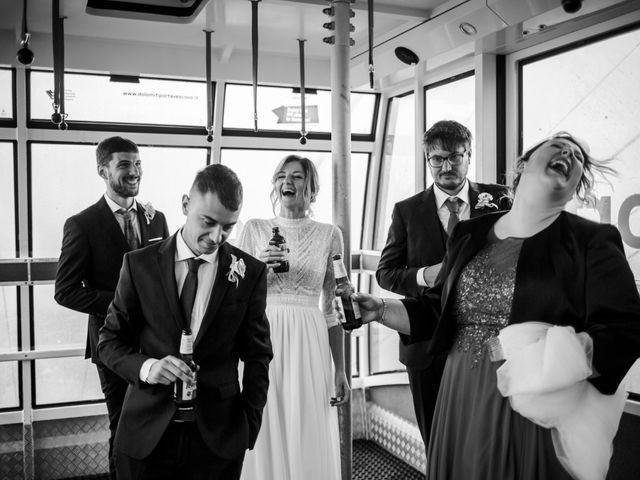 Il matrimonio di Francesco e Daniela a Livinallongo del Col di Lana, Belluno 101