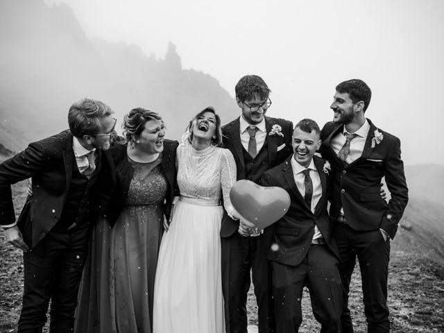 Il matrimonio di Francesco e Daniela a Livinallongo del Col di Lana, Belluno 102
