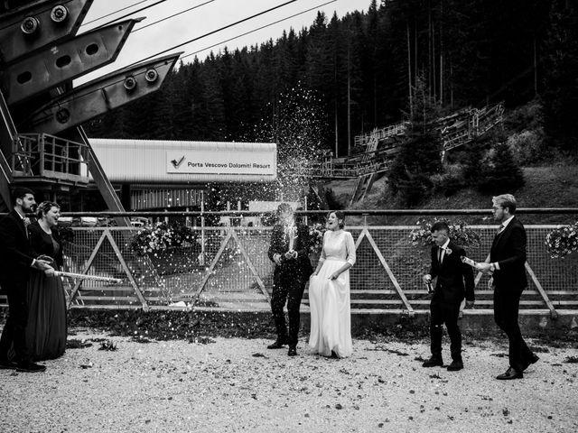 Il matrimonio di Francesco e Daniela a Livinallongo del Col di Lana, Belluno 127
