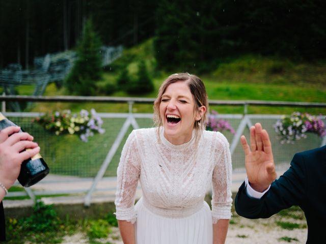 Il matrimonio di Francesco e Daniela a Livinallongo del Col di Lana, Belluno 128