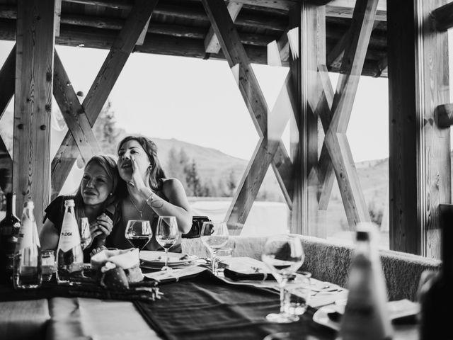 Il matrimonio di Francesco e Daniela a Livinallongo del Col di Lana, Belluno 153