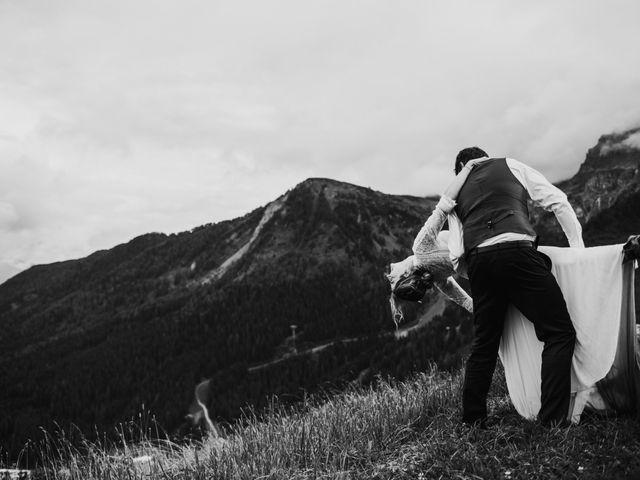 Il matrimonio di Francesco e Daniela a Livinallongo del Col di Lana, Belluno 165