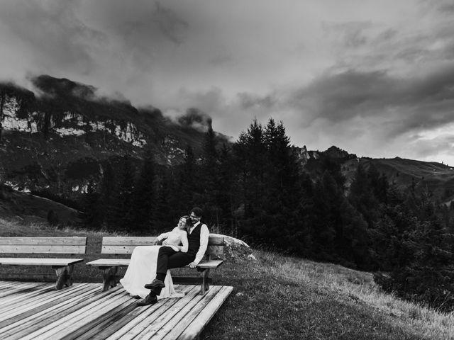 Il matrimonio di Francesco e Daniela a Livinallongo del Col di Lana, Belluno 167