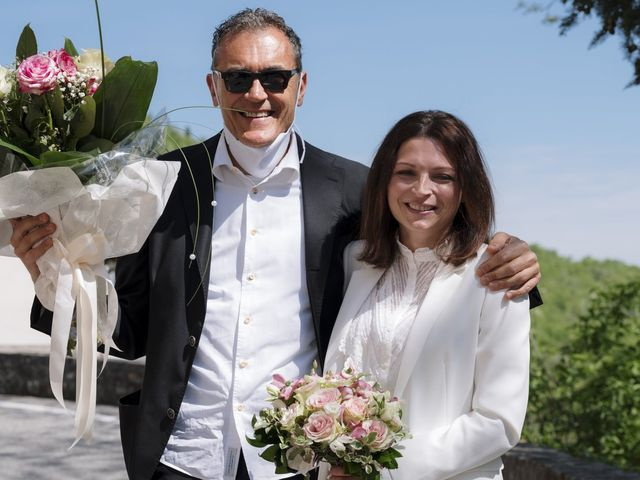 Il matrimonio di Luca e Silvia a Serrapetrona, Macerata 2