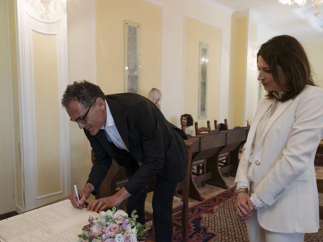Il matrimonio di Luca e Silvia a Serrapetrona, Macerata 24