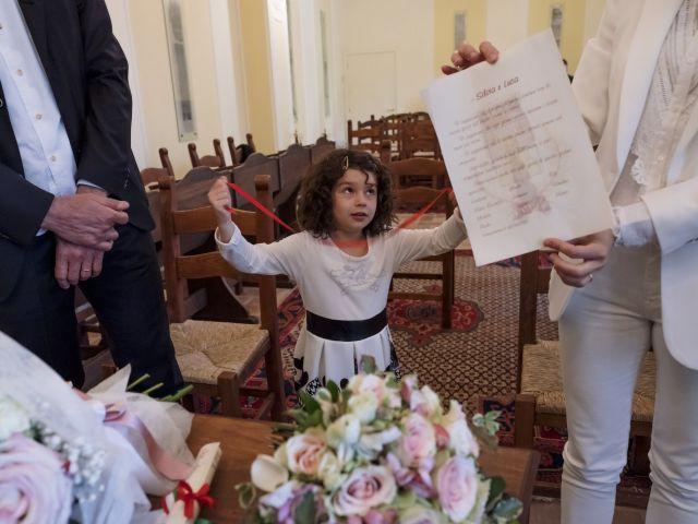 Il matrimonio di Luca e Silvia a Serrapetrona, Macerata 32