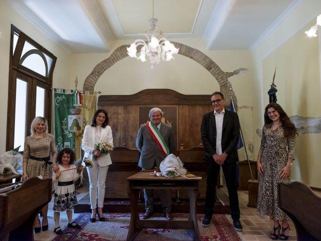 Il matrimonio di Luca e Silvia a Serrapetrona, Macerata 34