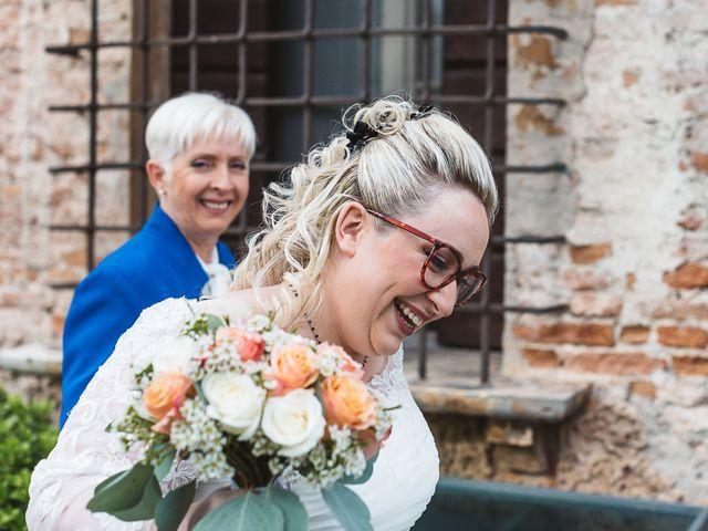 Il matrimonio di Enrico e Morena a Bevilacqua, Verona 27