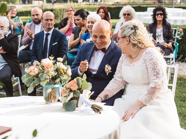 Il matrimonio di Enrico e Morena a Bevilacqua, Verona 32