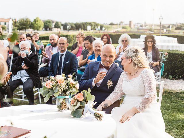Il matrimonio di Enrico e Morena a Bevilacqua, Verona 33
