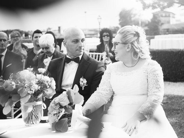 Il matrimonio di Enrico e Morena a Bevilacqua, Verona 34