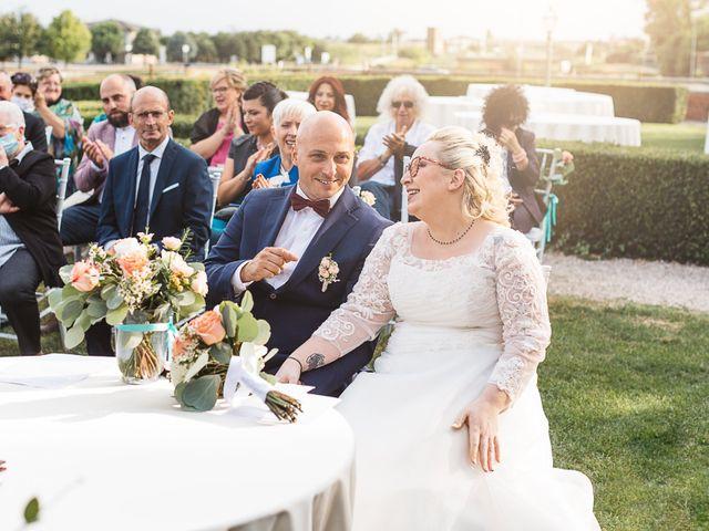 Il matrimonio di Enrico e Morena a Bevilacqua, Verona 35