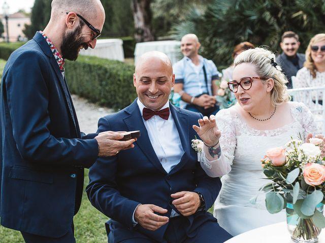 Il matrimonio di Enrico e Morena a Bevilacqua, Verona 39