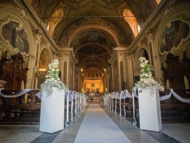 Il matrimonio di Alessandro e Sharon a Induno Olona, Varese 62