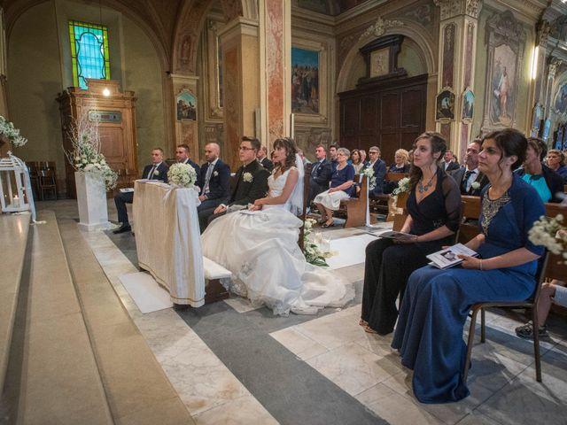 Il matrimonio di Alessandro e Sharon a Induno Olona, Varese 109