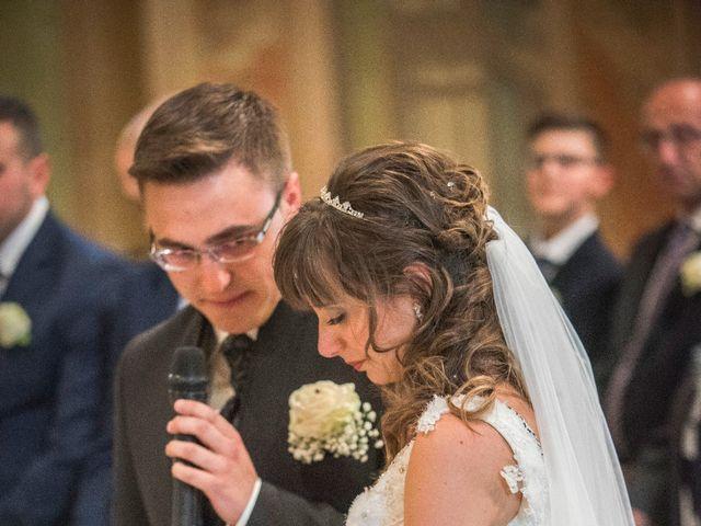 Il matrimonio di Alessandro e Sharon a Induno Olona, Varese 123