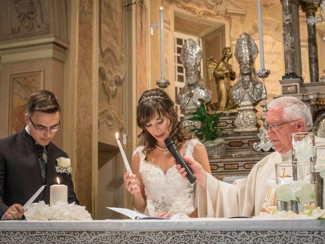 Il matrimonio di Alessandro e Sharon a Induno Olona, Varese 142