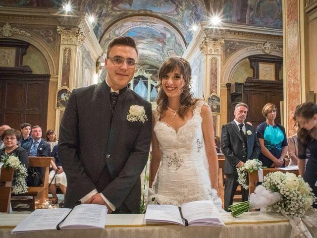 Il matrimonio di Alessandro e Sharon a Induno Olona, Varese 155