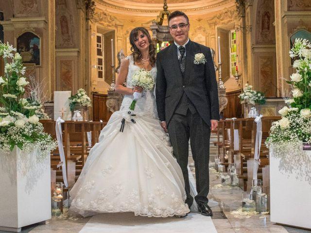Il matrimonio di Alessandro e Sharon a Induno Olona, Varese 173