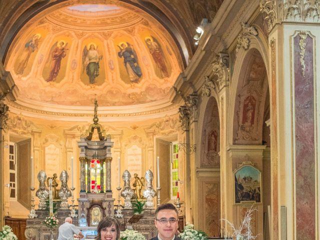 Il matrimonio di Alessandro e Sharon a Induno Olona, Varese 175