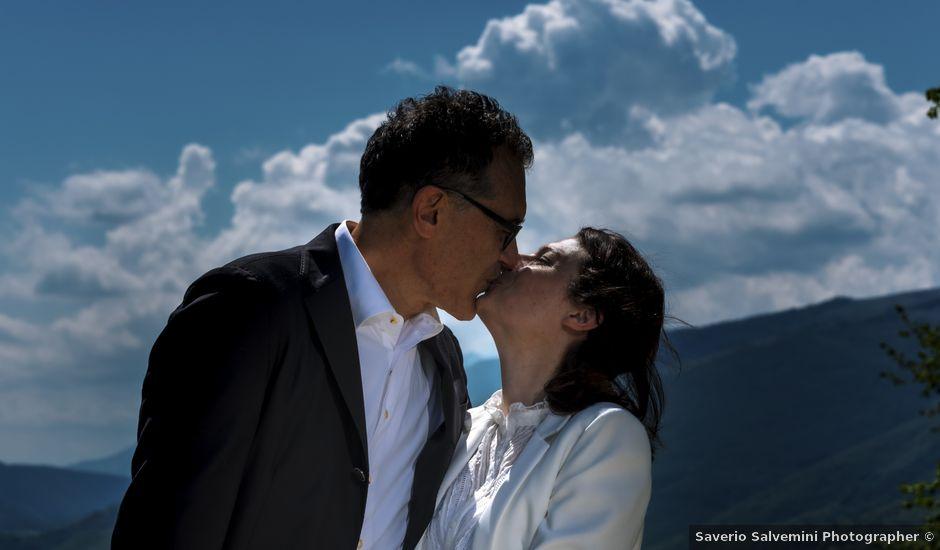Il matrimonio di Luca e Silvia a Serrapetrona, Macerata