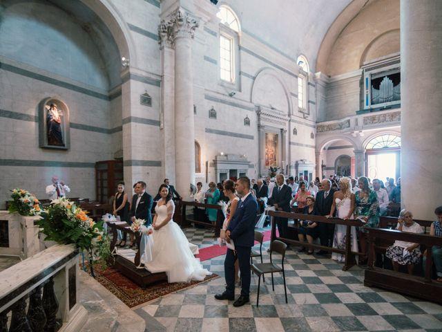 Il matrimonio di Marco e Selene a Lorenzana, Pisa 14