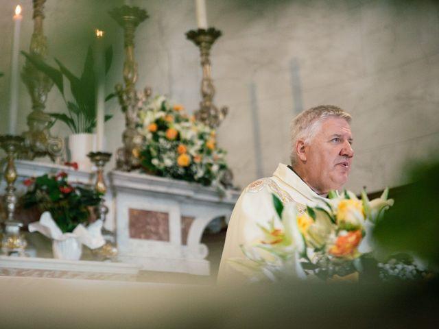 Il matrimonio di Marco e Selene a Lorenzana, Pisa 15