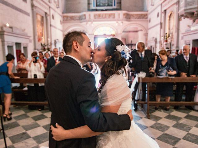 Il matrimonio di Marco e Selene a Lorenzana, Pisa 16
