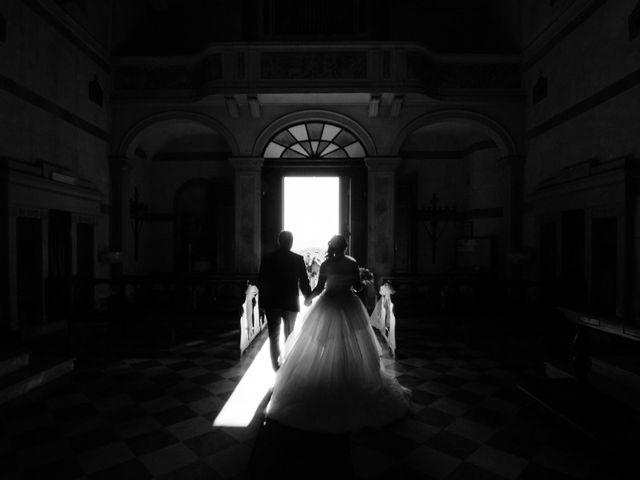 Il matrimonio di Marco e Selene a Lorenzana, Pisa 17