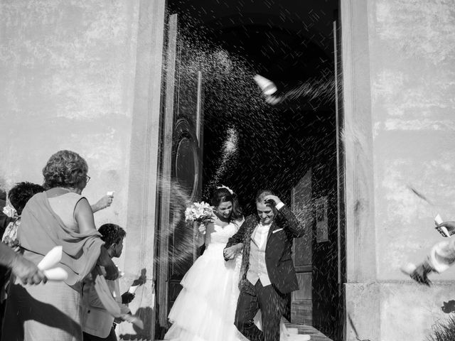 Il matrimonio di Marco e Selene a Lorenzana, Pisa 18