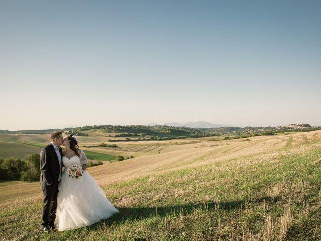 Il matrimonio di Marco e Selene a Lorenzana, Pisa 20