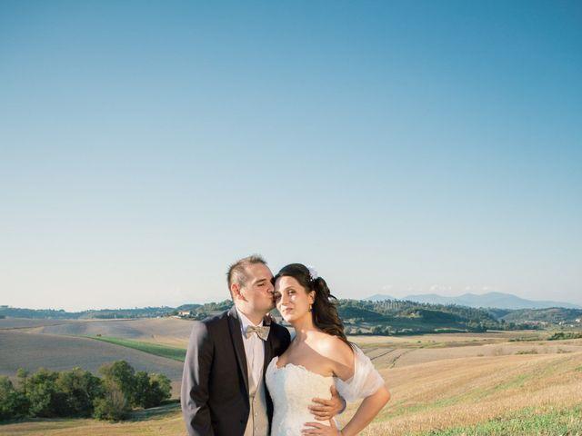 Il matrimonio di Marco e Selene a Lorenzana, Pisa 23