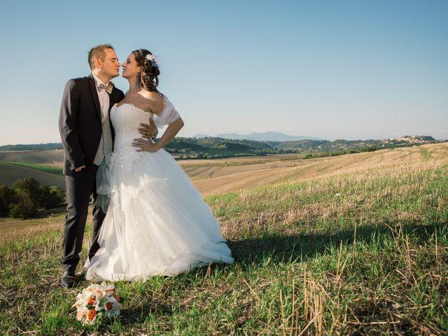 Il matrimonio di Marco e Selene a Lorenzana, Pisa 24