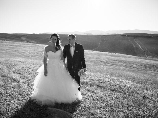 Il matrimonio di Marco e Selene a Lorenzana, Pisa 25