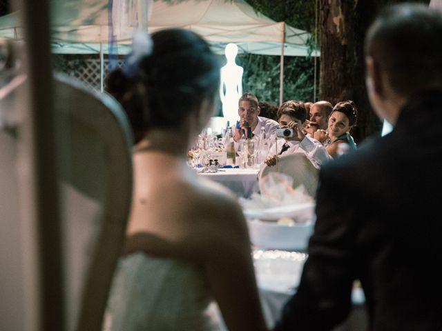 Il matrimonio di Marco e Selene a Lorenzana, Pisa 33