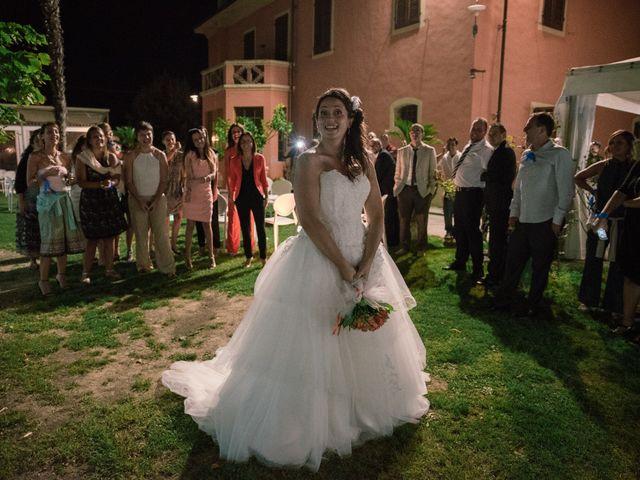 Il matrimonio di Marco e Selene a Lorenzana, Pisa 44