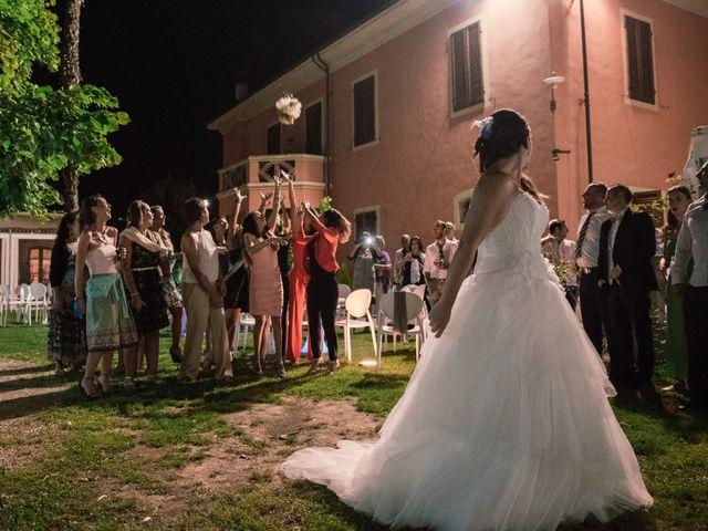 Il matrimonio di Marco e Selene a Lorenzana, Pisa 45