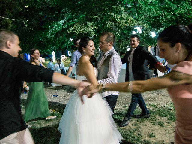 Il matrimonio di Marco e Selene a Lorenzana, Pisa 48