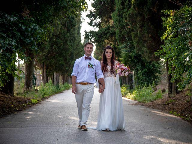 Le nozze di Lynda e Shane