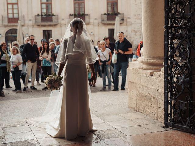 Il matrimonio di Baoudouin e Letizia a Siracusa, Siracusa 2