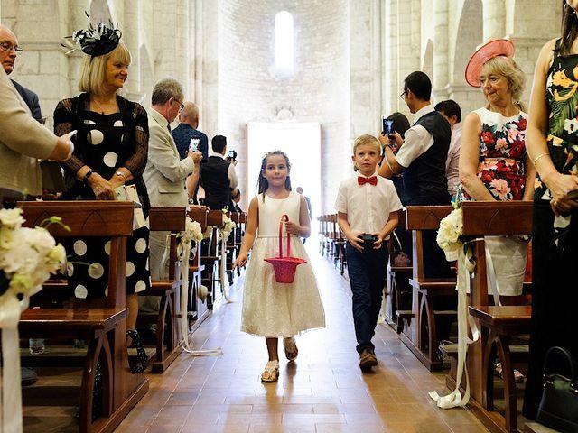 Il matrimonio di Nicholas e Sasha a Sermoneta, Latina 6