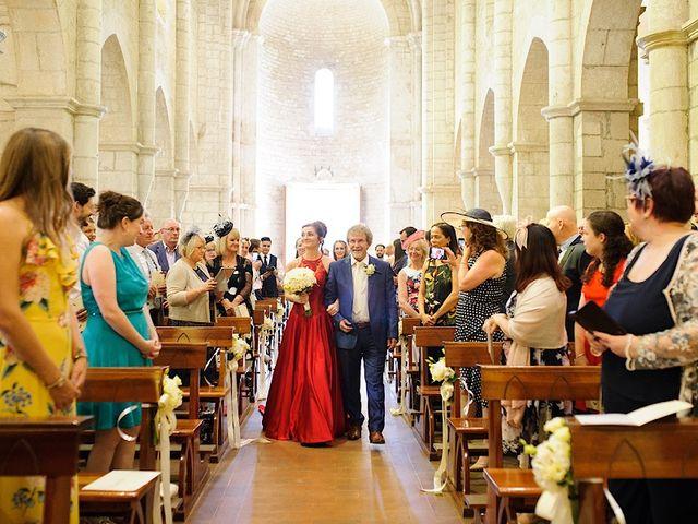 Il matrimonio di Nicholas e Sasha a Sermoneta, Latina 7