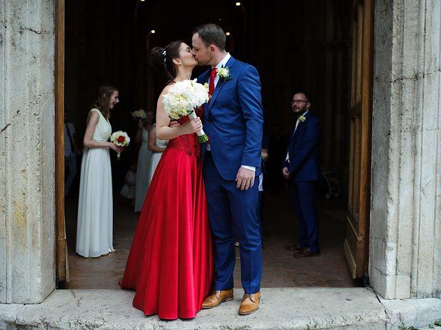 Il matrimonio di Nicholas e Sasha a Sermoneta, Latina 12