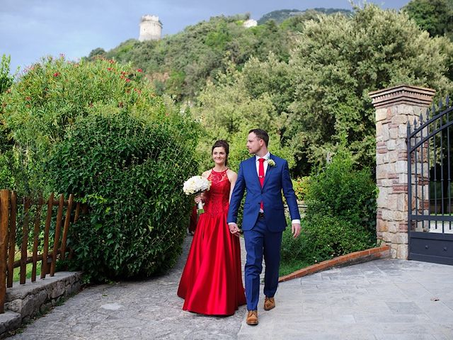 Il matrimonio di Nicholas e Sasha a Sermoneta, Latina 13