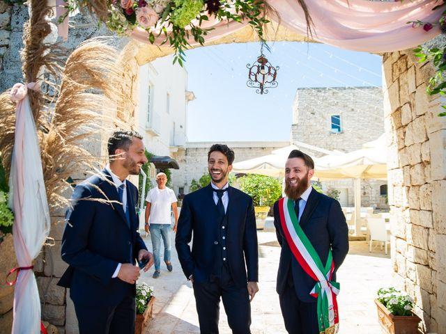 Il matrimonio di Damiano e Mara a Polignano a Mare, Bari 15