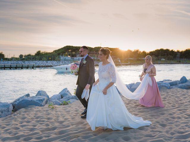 Il matrimonio di Filippo e Sara a Jesolo, Venezia 20