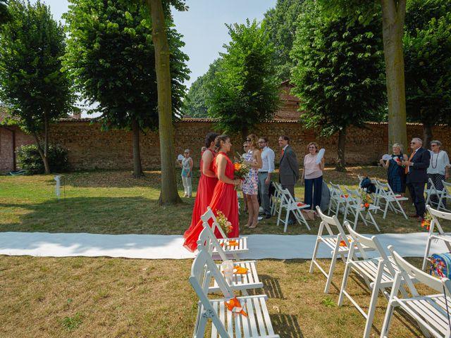 Il matrimonio di Alessandro e Erica a Robecco sul Naviglio, Milano 32